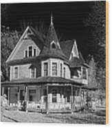 This Old House Version 2 Wood Print