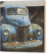 This Old Truck 13 Wood Print