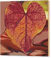 This One Is For Love Wood Print by Linda Sannuti