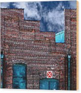 This Property Is Condemned Wood Print by Colleen Kammerer