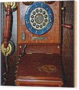 Thomas Cellular Wood Print