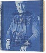 Thomas Edison Wood Print