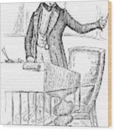 Thomas Hart Benton (1782-1858) Wood Print