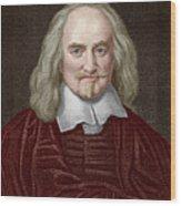 Thomas Hobbes Wood Print