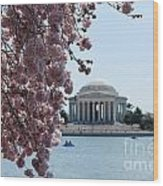 Thomas Jefferson Memorial Wood Print