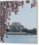 Thomas Jefferson Memorial In Dc Wood Print