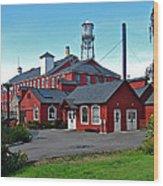 Thomas Kay Woolen Mill Wood Print