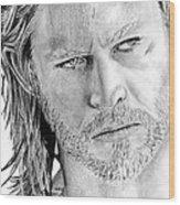 Thor Odinson Wood Print