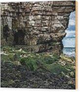 Thornwick Bay 5 Wood Print