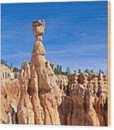 Thors Hammer, Bryce Canyon Wood Print