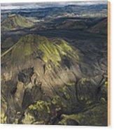 Thorsmork Valley In Iceland Wood Print