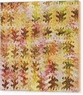 Those Autumn Leaves Wood Print