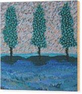 Those Trees I Always See #7 Wood Print