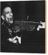 Thoth Y Violin Wood Print