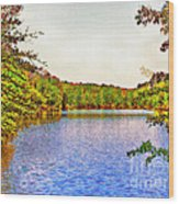 Thousand Trails Preserve Natchez Lake  Wood Print