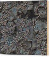 Threadbare Wood Print