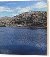 Threadbo Lake Panorama - Australia Wood Print