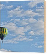 Three Beautiful Balloons In Cortez Wood Print