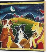 Three Dog Night Wood Print