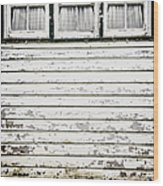Three In A Row Wood Print
