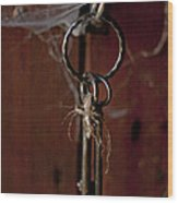 Three Keys Wood Print