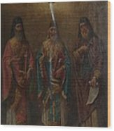 Three Saints Wood Print