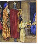 Three Wise Men Bearing Gifts Wood Print