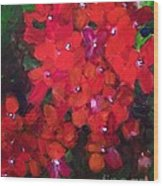 Thriving To Be Noticed Wood Print