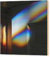 Through The Prism Wood Print