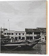 Thu Bon River Hoi An Wood Print