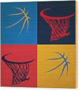 Thunder Ball And Hoop Wood Print