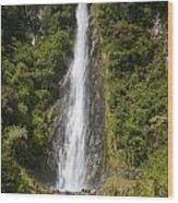 Thunder Creek Falls Wood Print