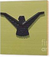 Thunderbird Emblem Wood Print