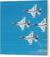 Thunderbird In Formation  Wood Print