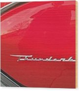 Thunderbird Roads Wood Print