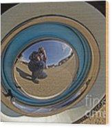Thunderbird Self Portrait   #8148 Wood Print
