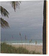 Thunderstorm Sky Wood Print
