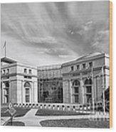 Thurgood Marshall Federal Judiciary Building Wood Print