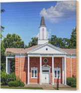 Thurmond Chapel Wood Print
