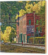 Thurmond Wv - Paint Wood Print