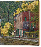 Thurmond Wv Wood Print