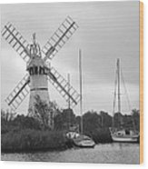 Thurne Windmill II Wood Print