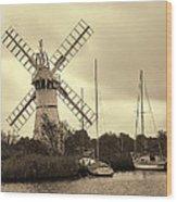 Thurne Windmill IIi Wood Print