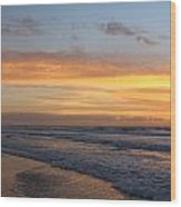 Topsail Island Sunup 2 Wood Print