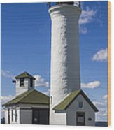 Tibbetts Point Lighthouse Wood Print