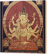 Tibetan Art Wood Print