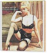 Tic-Toc - Vintage Magazine Covers Series Wood Print