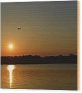 Tidal Basin Sunset Wood Print
