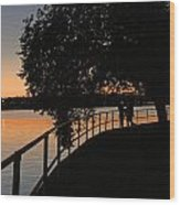 Tidal Basin Sunset0259 Wood Print