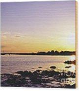 Tidal Light Wood Print
